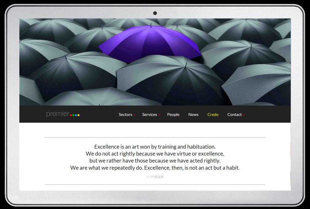 premier advisory website